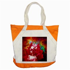 Star Flower Accent Tote Bag