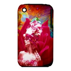 Star Flower Apple iPhone 3G/3GS Hardshell Case (PC+Silicone)