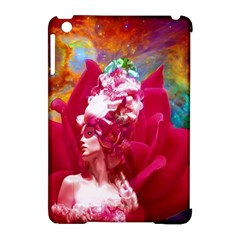 Star Flower Apple iPad Mini Hardshell Case (Compatible with Smart Cover)
