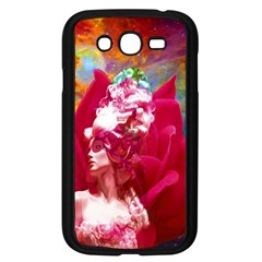 Star Flower Samsung Galaxy Grand DUOS I9082 Case (Black)