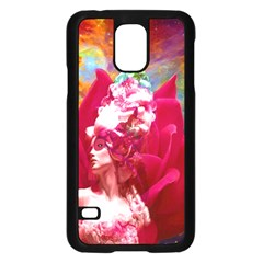 Star Flower Samsung Galaxy S5 Case (Black)