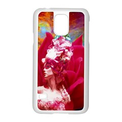 Star Flower Samsung Galaxy S5 Case (White)