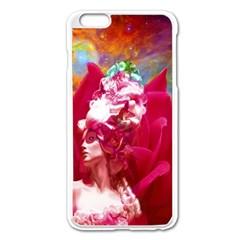 Star Flower Apple iPhone 6 Plus Enamel White Case