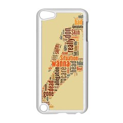 Michael Jackson Typography They Dont Care About Us Apple Ipod Touch 5 Case (white)