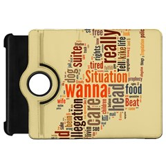 Michael Jackson Typography They Dont Care About Us Kindle Fire HD Flip 360 Case