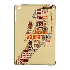 Michael Jackson Typography They Dont Care About Us Apple iPad Mini Hardshell Case (Compatible with Smart Cover)