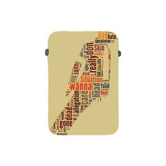 Michael Jackson Typography They Dont Care About Us Apple Ipad Mini Protective Sleeve