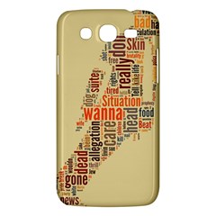 Michael Jackson Typography They Dont Care About Us Samsung Galaxy Mega 5 8 I9152 Hardshell Case