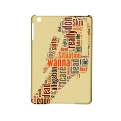 Michael Jackson Typography They Dont Care About Us Apple iPad Mini 2 Hardshell Case