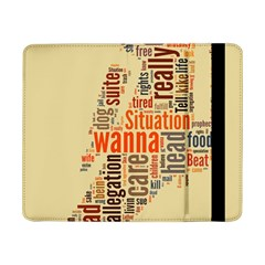 Michael Jackson Typography They Dont Care About Us Samsung Galaxy Tab Pro 8.4  Flip Case