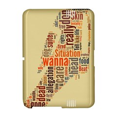 Michael Jackson Typography They Dont Care About Us Kindle Fire HD Hardshell Case