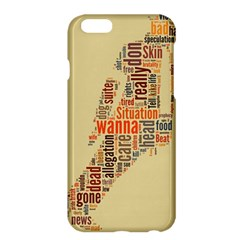 Michael Jackson Typography They Dont Care About Us Apple Iphone 6 Plus Hardshell Case