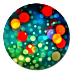 A Dream Of Bubbles Magnet 5  (Round)