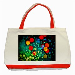 A Dream Of Bubbles Classic Tote Bag (Red)