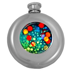 A Dream Of Bubbles Hip Flask (Round)