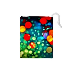 A Dream Of Bubbles Drawstring Pouch (Small)