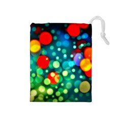 A Dream Of Bubbles Drawstring Pouch (Medium)