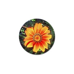 Flower In A Parking Lot Golf Ball Marker 10 Pack