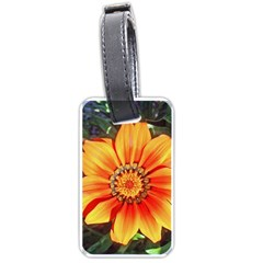 Flower In A Parking Lot Luggage Tag (one Side)