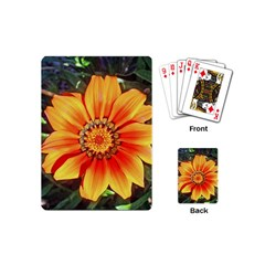 Flower In A Parking Lot Playing Cards (Mini)