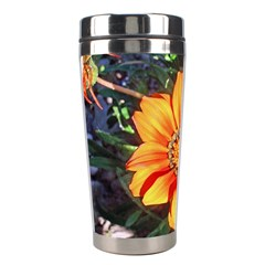 Flower In A Parking Lot Stainless Steel Travel Tumbler