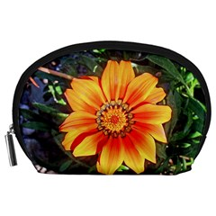 Flower In A Parking Lot Accessory Pouch (large)