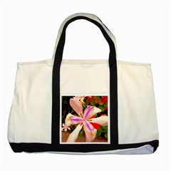 African Iris Two Toned Tote Bag
