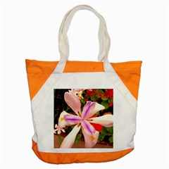 African Iris Accent Tote Bag