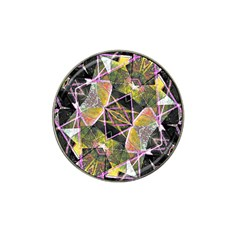 Geometric Grunge Pattern Print Golf Ball Marker (for Hat Clip)