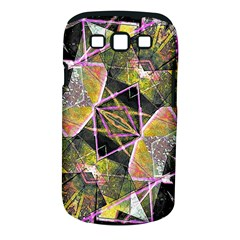 Geometric Grunge Pattern Print Samsung Galaxy S III Classic Hardshell Case (PC+Silicone)