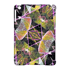 Geometric Grunge Pattern Print Apple Ipad Mini Hardshell Case (compatible With Smart Cover)