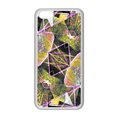 Geometric Grunge Pattern Print Apple Iphone 5c Seamless Case (white)