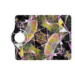 Geometric Grunge Pattern Print Kindle Fire Hd (2013) Flip 360 Case