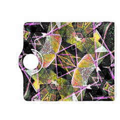 Geometric Grunge Pattern Print Kindle Fire HDX 8.9  Flip 360 Case