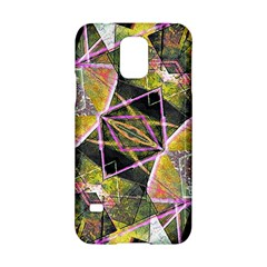 Geometric Grunge Pattern Print Samsung Galaxy S5 Hardshell Case