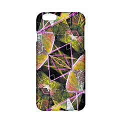Geometric Grunge Pattern Print Apple iPhone 6 Hardshell Case