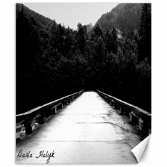 long road Canvas 8  x 10  (Unframed)