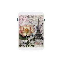 Vintage Paris Eiffel Tower Floral Apple Ipad Mini Protective Sleeve
