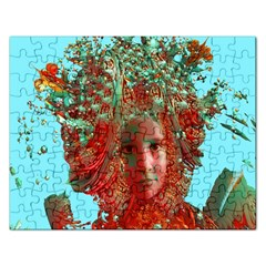 Flower Horizon Jigsaw Puzzle (rectangle)