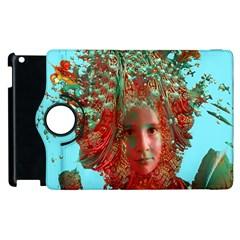 Flower Horizon Apple iPad 2 Flip 360 Case