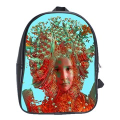 Flower Horizon School Bag (xl)