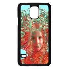 Flower Horizon Samsung Galaxy S5 Case (Black)