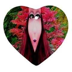 Tree Spirit Heart Ornament