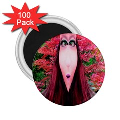 Tree Spirit 2.25  Button Magnet (100 pack)