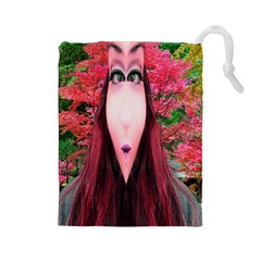 Tree Spirit Drawstring Pouch (Large)