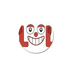 Laughing Out Loud Illustration002 Golf Ball Marker