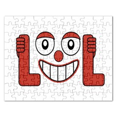 Laughing Out Loud Illustration002 Jigsaw Puzzle (Rectangle)
