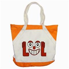 Laughing Out Loud Illustration002 Accent Tote Bag