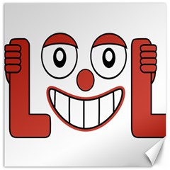 Laughing Out Loud Illustration002 Canvas 12  X 12  (unframed)