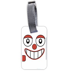 Laughing Out Loud Illustration002 Luggage Tag (one Side)